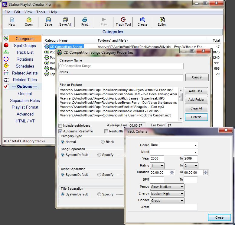 Windows 7 StationPlaylist Creator 5.50 B5.5.0.24 full