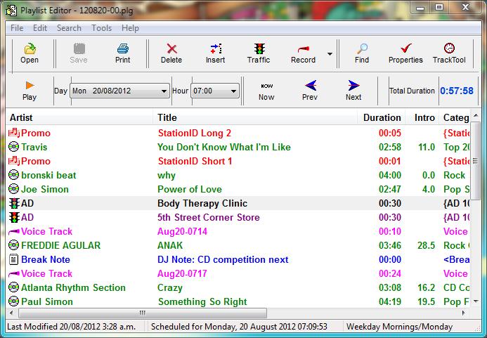 StationPlaylist Creator - Music Scheduling software
