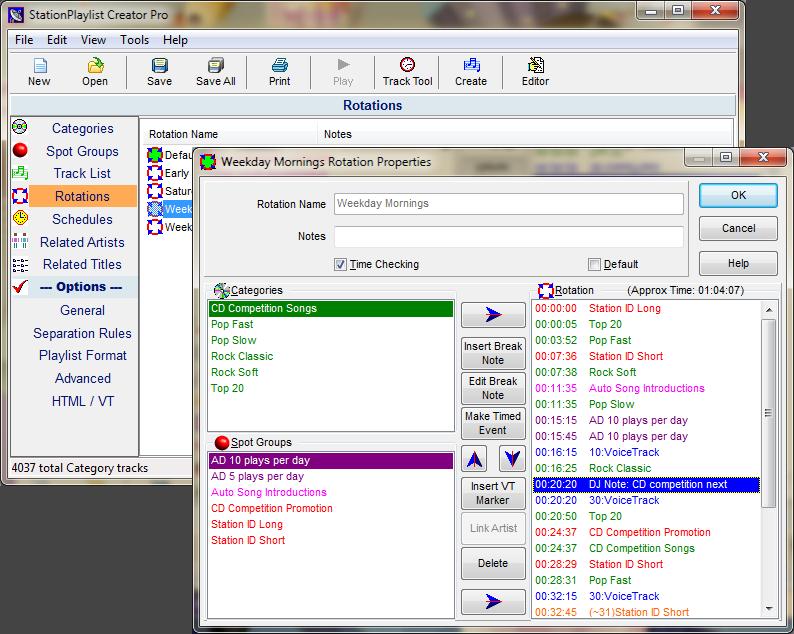 StationPlaylist Creator screenshot
